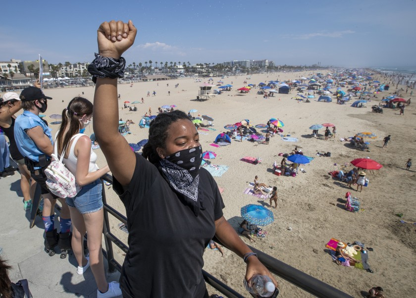 'No going back' to racist past, L.A. civic leaders say of post-COVID future